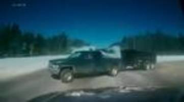 Dashcam video of high speed Ontario crash goes viral