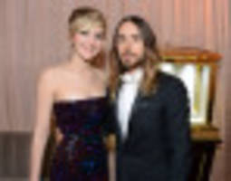 Jared Leto Wonders If Jennifer Lawrence's Oscars Fall Was 'A Bit Of An Act'