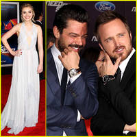 Aaron Paul & Imogen Peets: 'Need for Speed' Premiere!