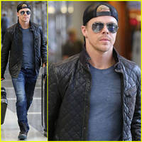 derek hough: off to sochi with 'dwts' partner amy purdy!