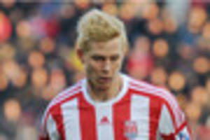 stoke city: brek shea says sorry to barnsley fans for gesture