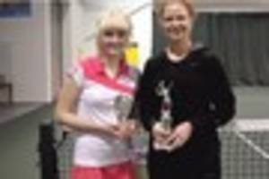 Broadstairs pair impress at Spring Open tennis event